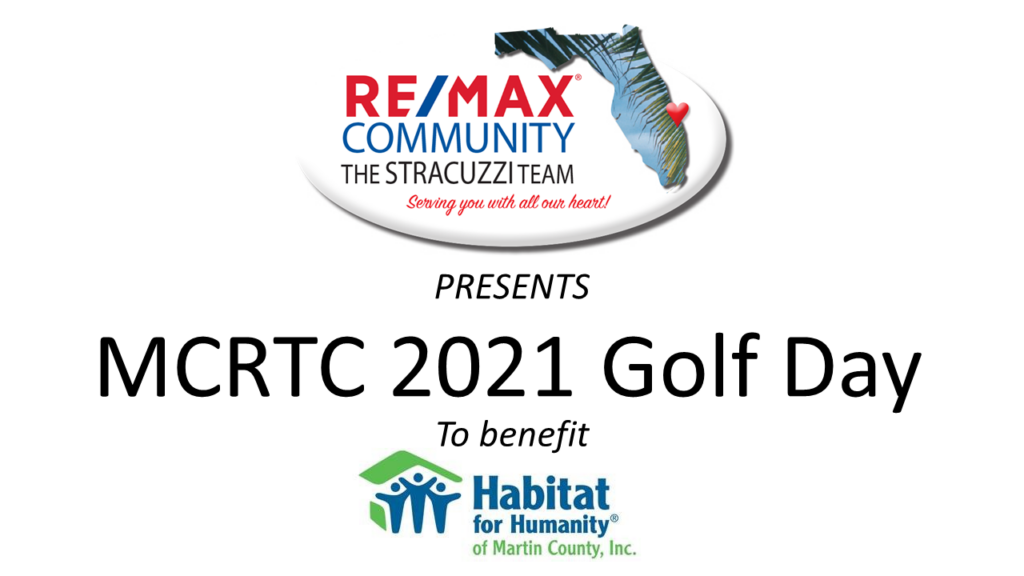 RE/MAX Community Presents MCRTC 2021 Golf Day to benefit Habitat for Humanity of Martin County